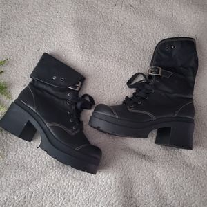 Emergency Exit Excess | Combat Boots | Size 9 |